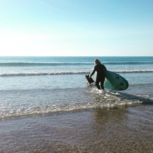 Paddleboarding in Cornwall
