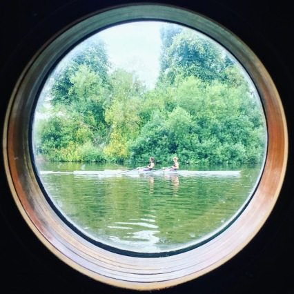 Taken from our boat while moored in York