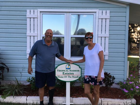 Tropical Harbor Home of the Month