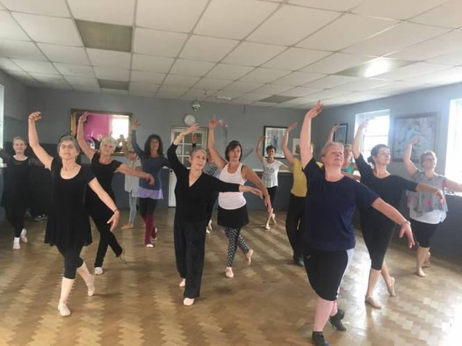 5 Ballet class