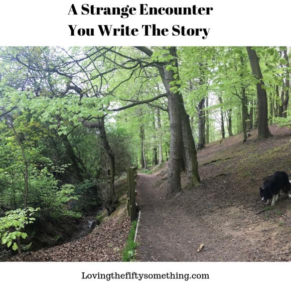 A Strange Encounter You Write The Story